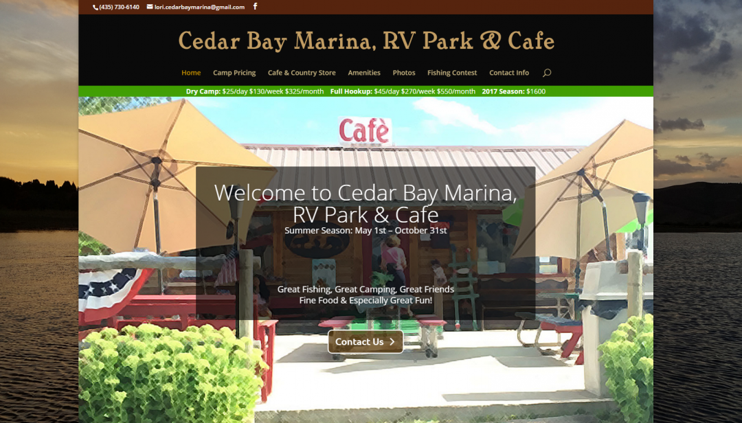 Cedar Bay Marina in Soda Springs, ID