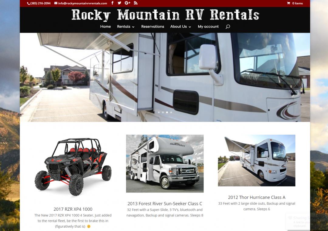Rocky Mountain RV Rentals